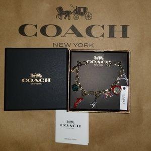 🎁💯 Authentic Coach Wizard of oz Bracelet